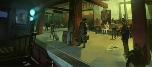 Subway Spies by GWhitehall