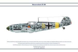 Bf 109 E-4 JG5 1 by WS-Clave