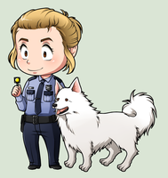 SPN Dogs #12 by NessaSan
