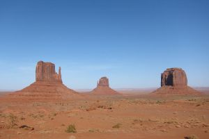 Desert - Monument Valley, Mythical view by elodie50a