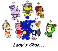 Lady's Chao by ChrissieGirl