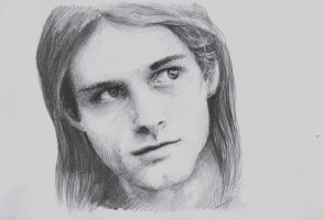 Kurt Cobain by MaryjeD