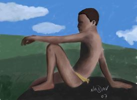 boy in Africa by nadavnach
