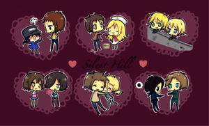 SH: silent hill couples :3 by ritsuneko69