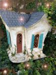 Completed Paper Cottage Front! by rosannasart