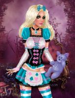 Alice in Glamourland by kharis-art