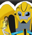 Bumblebee and Beth! by linda0808