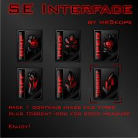 SE Interface - pack 1 by mrSkope