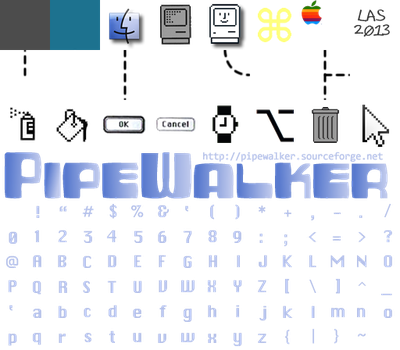 Pipewalker MAC CLASSIC theme (for 0.9.3 or newer) by LauraSeabrook