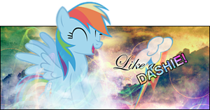 Like a Dashie! by BlackKiriin