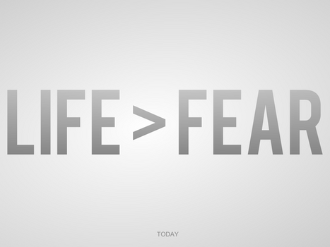 Life larger than fear by JustGage