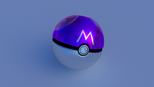 Masterball with reflection by 1amnick