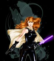 Mara Jade Shirt Design for Her Universe by gattadonna