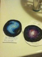 Making Galaxies with copics  by foxygonnafox