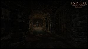 Enderal - Corridor End by The13thCat