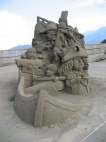 Sand Sculpture 2 by meguida