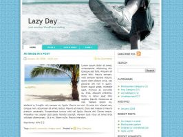 Lazy Day WordPress Theme by dulcepixels
