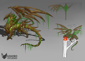 SWclan Dragon - Root by Kanoro-Studio