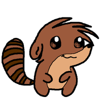 Chibi Rigby by Bomberdrawer