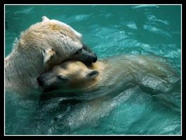 Mother and son by kanes