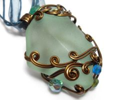 Shadowsea Pendant no. 6 by sojourncuriosities