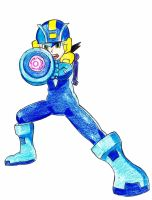 Megaman by TheROOkieDrawer