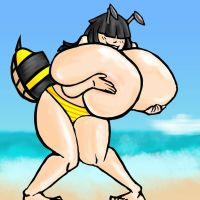 BE Bee at the Beach. by BeePunz