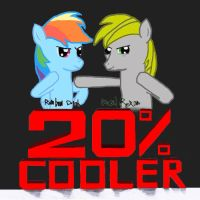 20% cooler album cover by RageRex