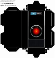 Cubee - HAL9000 by CyberDrone
