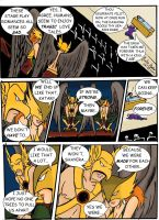 Hawkman and Hawkgirl in a Theatre by WibbitGuy