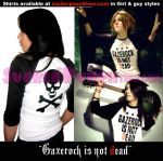 Gazerock is not dead shirts by AmberCherryBomb
