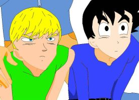 Teenage Rivalry by dbzlover135