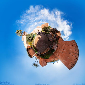 Saadian Tombs 360 by ollite20