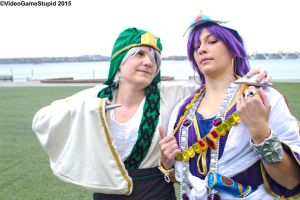 Katsucon 2015 - Jafar and Sinbad(PS) 02 by VideoGameStupid