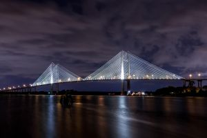 Dames Point Bridge by 904PhotoPhactory