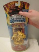 Skylanders-Custom Gold Bash by KrazyKari