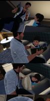 Sims 3 Bedtime story by Iyakoo