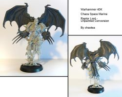 Raptor Lord Unpainted Conversion by chaotea