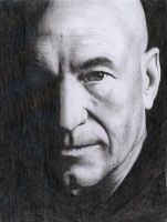 Patrick Stewart by Woolf20