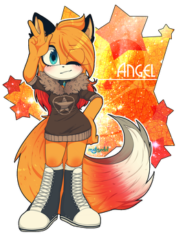 Contest prize - Angel the Fire Demon by Maikyodel