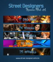 Street Designers Resource Pack by dsquaredgfx