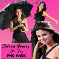 Selena Gomez Who Says PNG Pack by BellaThorneAlways