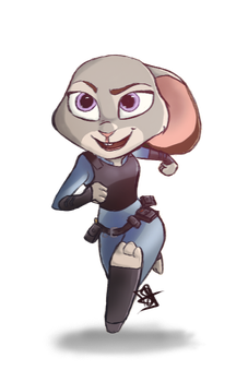 Judy Hopps by Nartiifiice