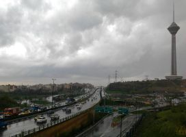 Milad tower in a rainy day by tomantic