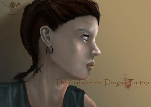 The Girl with the Dragon Tattoo by dongrichen