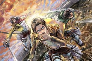 AoT_Dream team by zzyzzyy