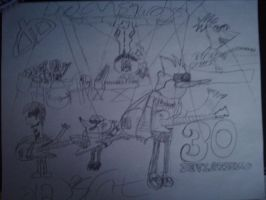 30 deviations Regular Show+PnF by carabao89