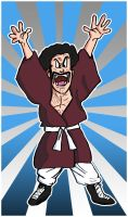 Stronger Mr Satan color by dadouX