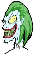 Joker face color test by dactiruriruri