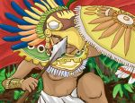Aztecan Female warrior by ShinigamiRukia